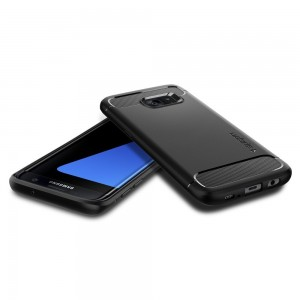 Galaxy S7 Edge Case, Spigen Rugged Armor2
