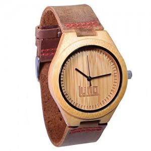 Luno Wear Men's Bamboo Wood Watch