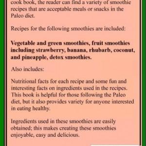 Paleo Smoothies: Recipes to Energize2