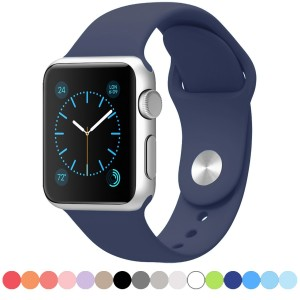 FanTEK Soft Silicone Sport Style Strap for Apple Wrist Watch13