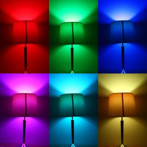 5W LED Bulbs, Color Changing with Remote Controller2