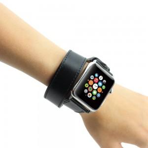 Apple Watch Band, Wearlizer Genuine Leather