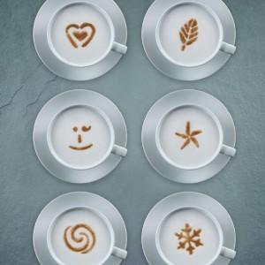 Aerolatte Cappuccino Art Stencils11