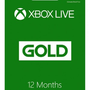 Microsoft Xbox LIVE 12 Month Gold Membership3