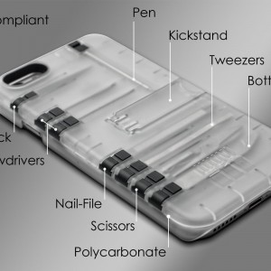 IN1 Multi Tool Case for iPhone 6/6s - Retail Packaging1