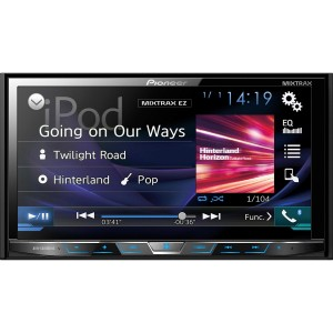 "X PIONEER 7"" DVD Receiver Motor Bluetooth"