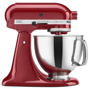 KitchenAid Artisan Stand Mixer with Pouring Shield2