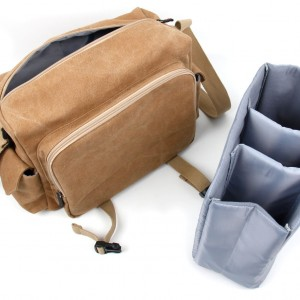 11Tan Brown Canvas Carry Bag for Fisher Price Code-a-Pillar