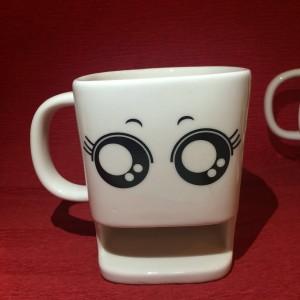 Big Eyes Cookie Mug