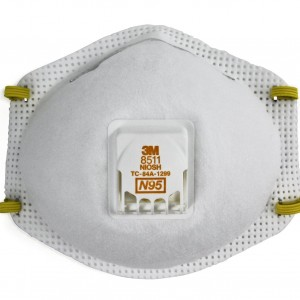 3M Particulate Respirator 8511, N9512