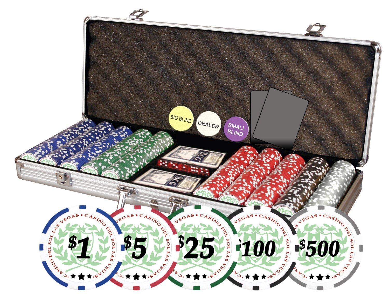 Da vinci poker set