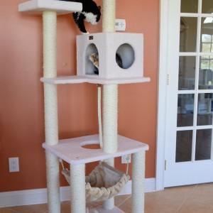 Armarkat Cat tree Furniture Condo2