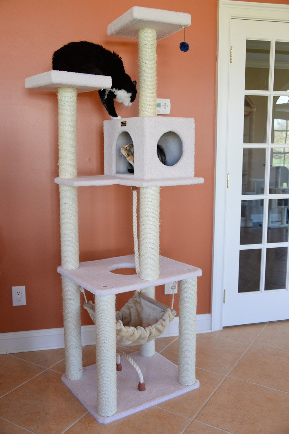 Delightful Armarkat Cat Tree Furniture Condo