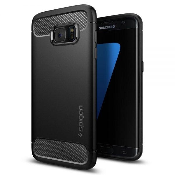 Galaxy S7 Edge Case, Spigen Rugged Armor