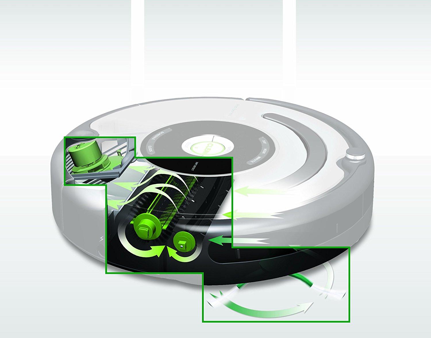 irobot roomba 650 vacuum cleaning robot for pets best. Black Bedroom Furniture Sets. Home Design Ideas