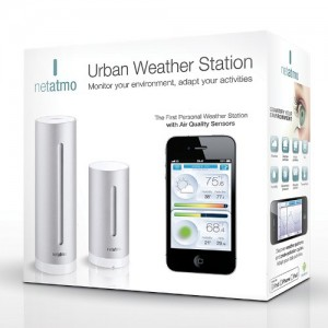 Netatmo Weather Station for Smartphone