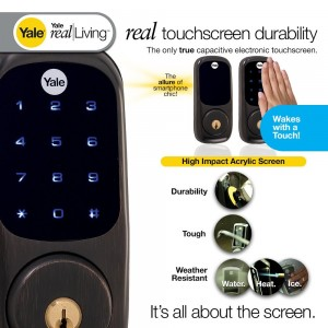 Yale Electronic Touch Screen Deadbolt New