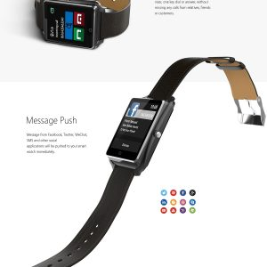Bluboo U Smart Watch