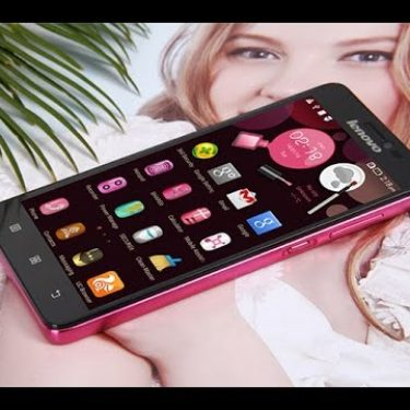 Lenovo S850 Pink Smartphone