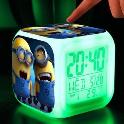 Minions Alarm Clock with LED