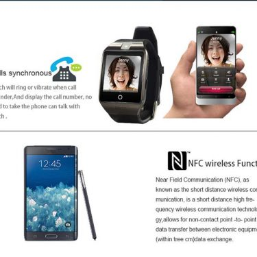 APRO Bluetooth and NFC Smart Watch