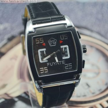 Elegent Square Automatic Fuyate Watch J170