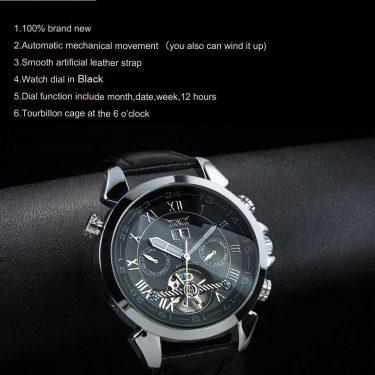 High Definition Automatic Jaragar Watch J218