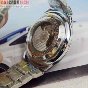 High-Grade Steel Male Fly-Wheel Watch J252