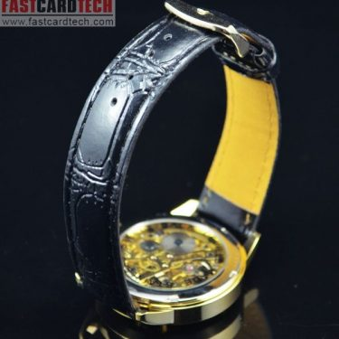 Luxury Round Automatic Golden Watch J172