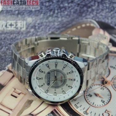 Men Steel Band Automatic Watch J282