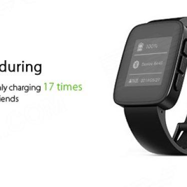 Weloop Tommy Waterproof   LCD Smartwatch