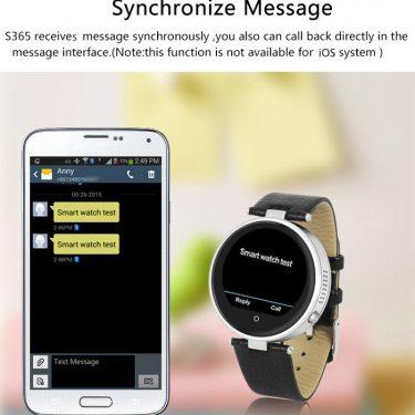 ZGPAX S365 Heart Rate Monitor Smart Watch