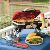 Cuisinart Petit Gourmet Portable Tabletop Gas Grill3