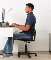 Low-Back Computer Chair