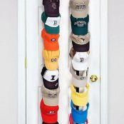 CapRack18 - Baseball Cap Holder