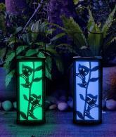 Solar Hanging Lantern Hummingbird Garden Decoration