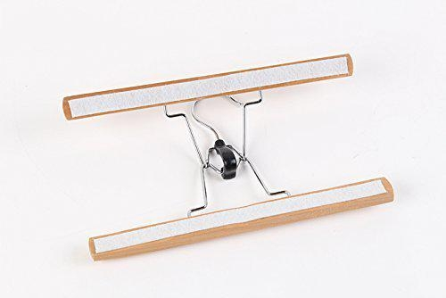 Tosnail Solid Natural Wood Collection Skirt Hangers