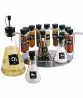 14 Piece Chemistry Spice Rack Set