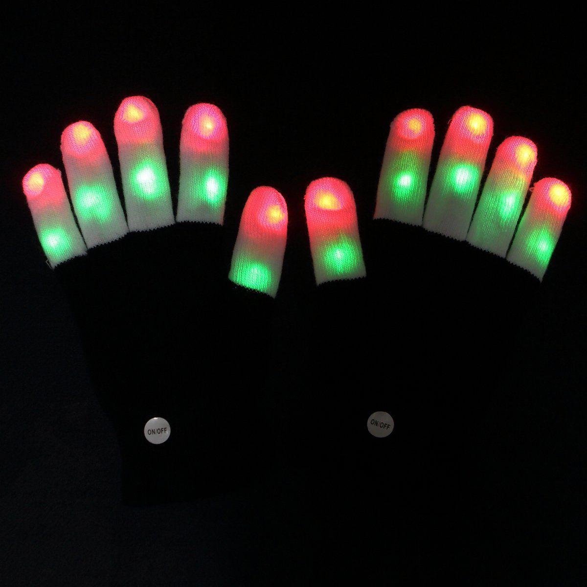 Amazer Kids Finger Light Gloves