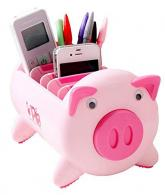 Creative Pigs Plastic Office Pencil Holder