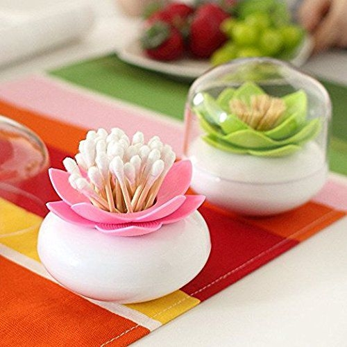 Melonboat Lotus Cotton Swab Holder Best Offer Reviews