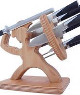 Spartan Knife Block - Handmade Premium Birch