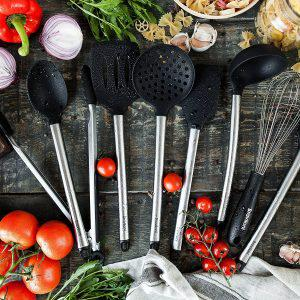 8 Piece Cooking Utensils - Nonstick Utensil Set