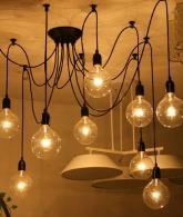 Antique Adjustable Flush Mount Pendant Light Lamp