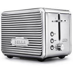 BELLA LINEA 2 Slice Toaster with Extra Wide Slot