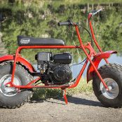 Coleman Powersports Gas Powered Mini Trail Bike4