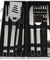 Complete Outdoor Barbecue Grilling Accessories Kit