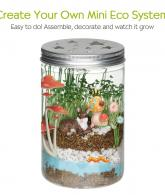 Creativity for Kids Grow 'n Glow Terrarium - Science Kit for Kids3