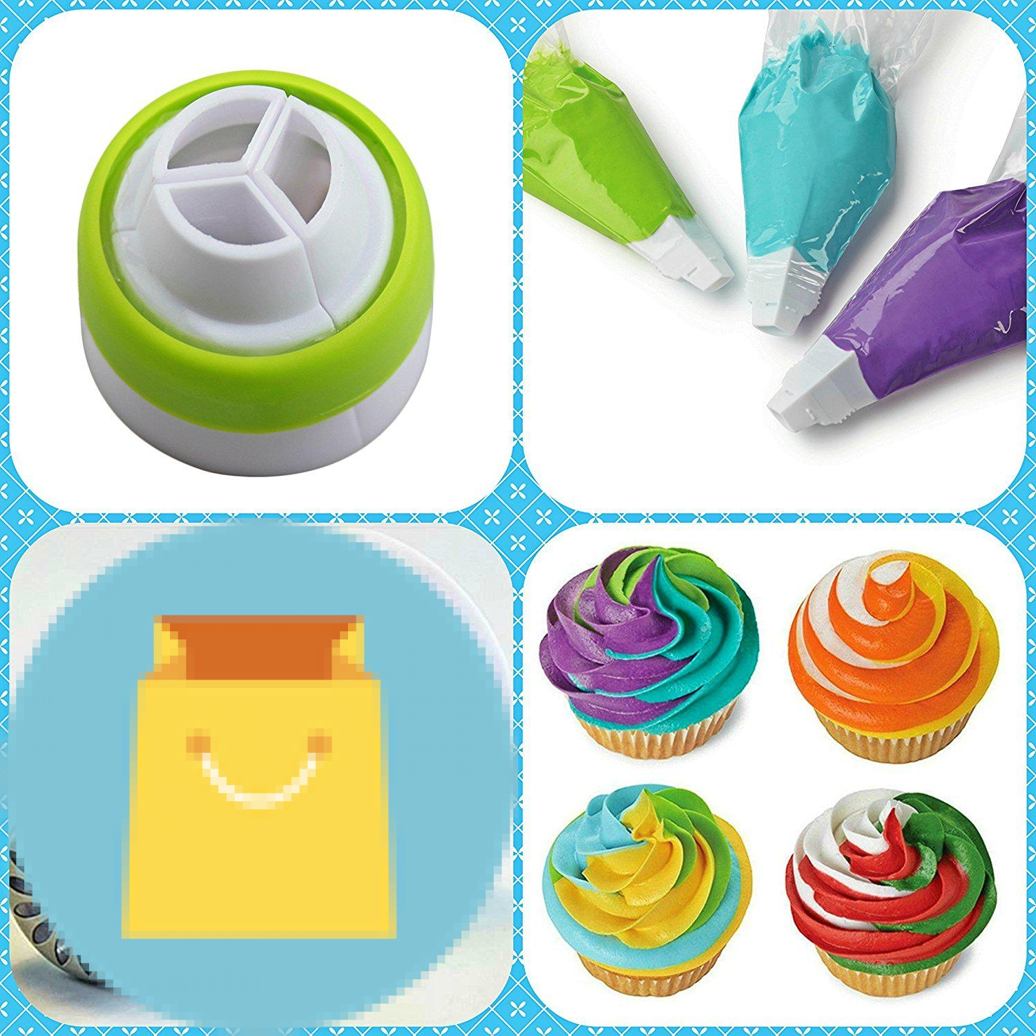 Cupcake Decorating Supplies Russian Piping Tips Best Offer