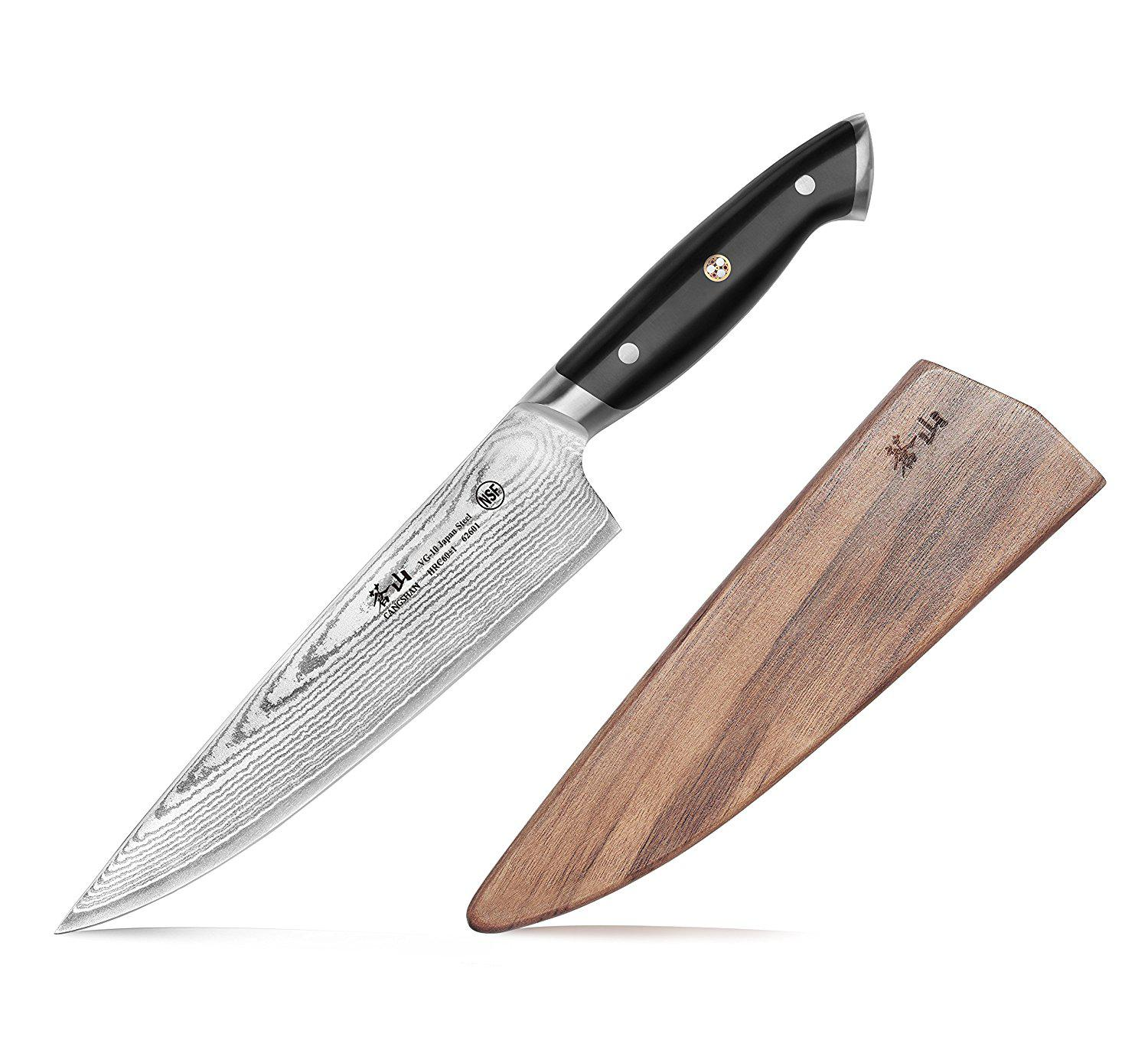 Knife Forging Ovens : Forged chef knife with walnut sheath best offer reviews